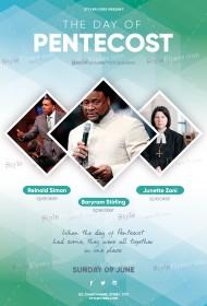 Pentecost PSD Flyer Template