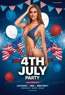 4th-July-Party_psd_flyer