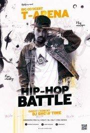 Hip Hop Battle PSD Flyer Template