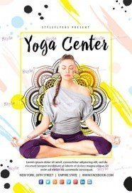 Yoga-Center-Flyer