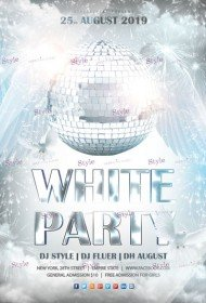 Free Party Flyer PSD Templates Download - Styleflyers
