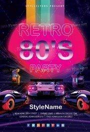 80's-Retro-Flyer