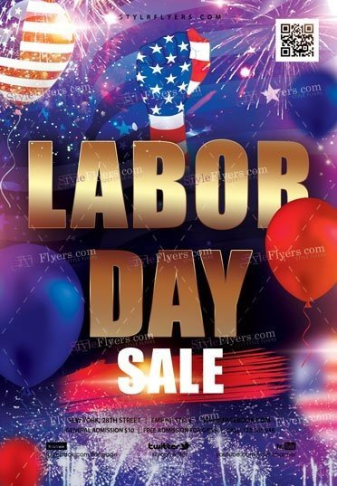Labor Day Sale Flyer