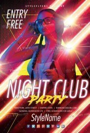 Night-Club-Party-Flyer