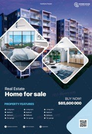 Real Estate PSD Flyer Template
