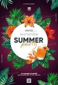 Summer-Party-Invitation_psd_flyer