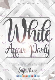 White-Affair-Party-Flyer