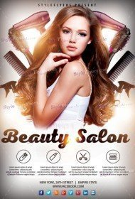 Beauty Salon PSD Flyer