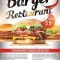 Burger-Restaurant-Flyer