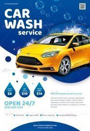 Car-Wash-Service_psd_flyer