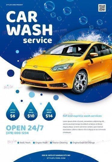 Car-Wash-Service_psd_flyer