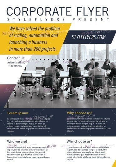 Corporate PSD Flyer