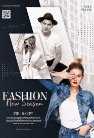 Fashion PSD Flyer Template