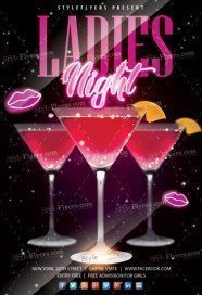 Ladies-Night-Flyer-Template