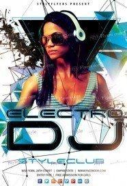 Electro-DJ-Flyer