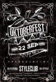 Oktoberfest PSD Market Template