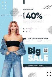 Sale PSD Flyer Template