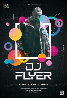Dj Flyer PSD Flyer Template