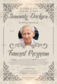 Funeral Program PS Action