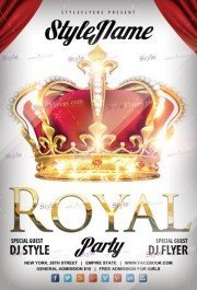 Royal-party-PSD-Flyer-Template