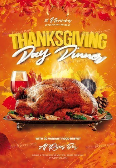 Thanksgiving-Day_psd_flyer