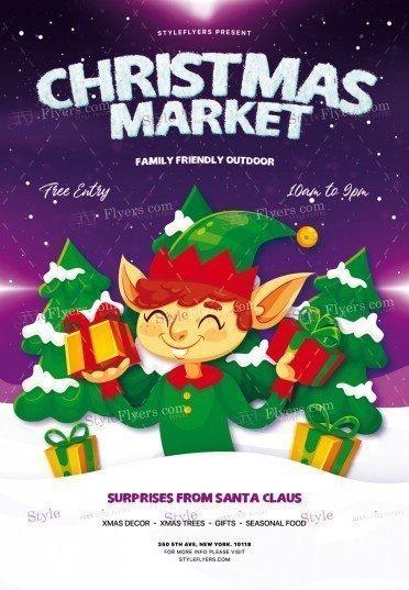 christmas-market_psd_flyer