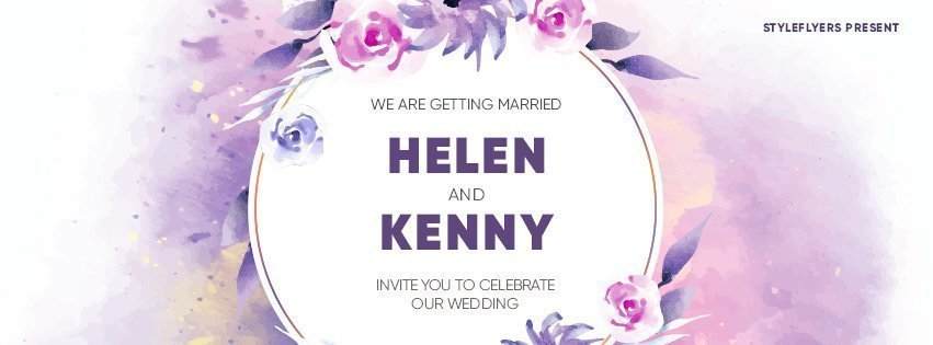 facebook_prev_wedding_psd_flyer