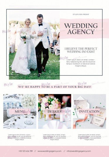wedding-agency_psd_flyer
