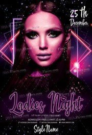 Ladies-Night-Flyer-Template