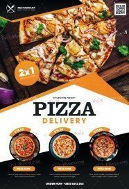 Pizza Restaurant (delivery) PSD Flyer