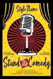 Stand-Up-Comedy-Flyer