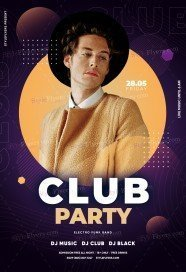 Club Party PSD Flyer