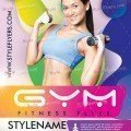 Gym-Fitness-Flyer-Template