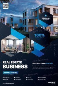 Real Estate Business PSD Flyer Template