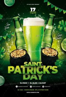 ST Patrick's Day PSD Flyer Template