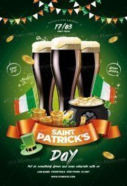 ST. Patrick's Day PSD Flyer