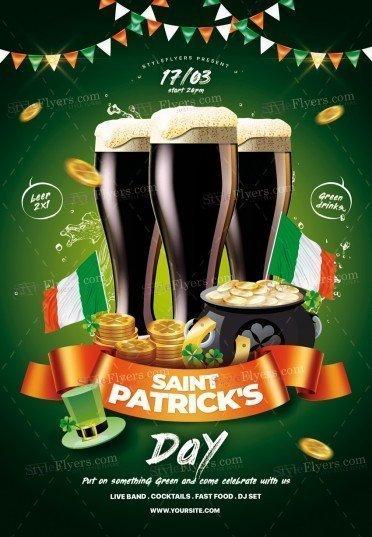ST. Patrick's Day PSD Flyer