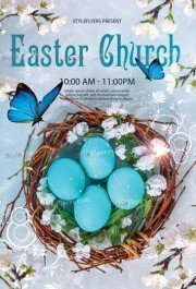Easter Chursh Flyer