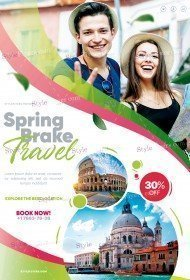 Spring Brake Travel PSD Flyer