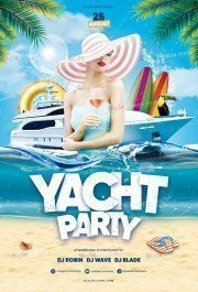 Yacht Party PSD Flyer