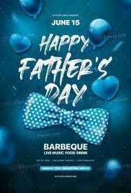 Father's Day PSD Flyer