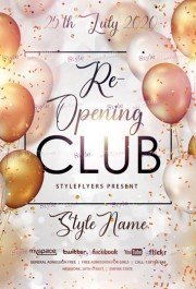 Re-opening-Club-Flyer-Template