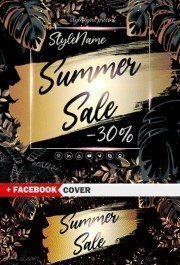 Summer Sale PSD Template