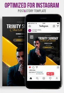 Trinity Sunday. Church Event