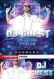 DJ Guest Flyer Template