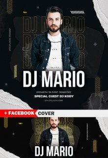 Dj Square Flyer