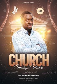 Church PSD Flyer
