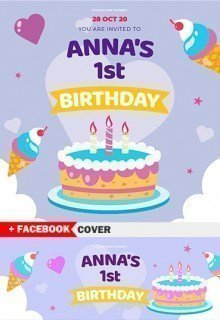 Anna's 1st Birthday
