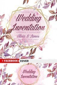 Wedding Invintation PSD Flyer Template